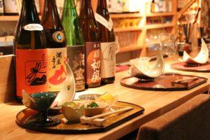 田町日本酒バー 途なり。